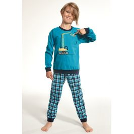 Chlapecké pyžamo Crane  tyrkysová