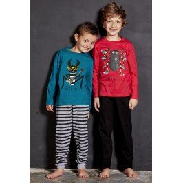 Chlapecké pyžamo Bug  červená