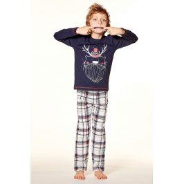 Chlapecké pyžamo Noel  nám.modrá