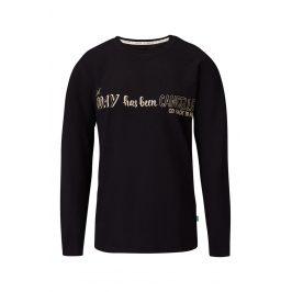 Pánské tričko na spaní Bulldogs  černá