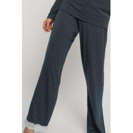 Dámské kalhoty na spaní Henrietta  melanžšedá