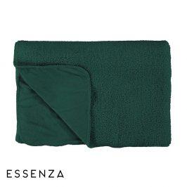 Přehoz Essenza Lammy zelený 150x200 cm zelená