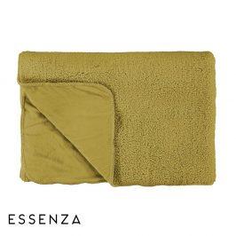 Přehoz Essenza Lammy žlutý 150x200 cm žlutá