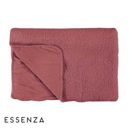 Přehoz Essenza Lammy růžový 150x200 cm růžová