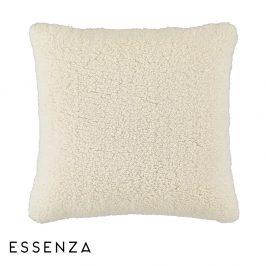 Dekorační polštář Essenza Lammy bílý 50x50 cm bílá