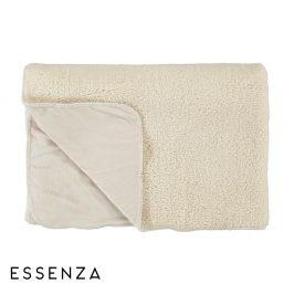 Přehoz Essenza Lammy bílý 150x200 cm bílá
