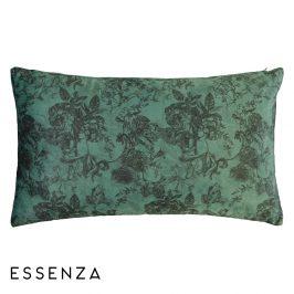 Dekorační polštář Essenza Vivienn Green 30x50 cm zelená