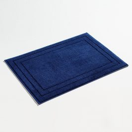 Koupelnová předložka Jasmina modrá 50x70 cm bavlna