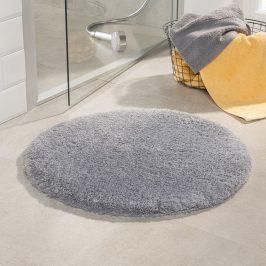Koupelnová předložka Malmo šedá průměr 71 cm šedá