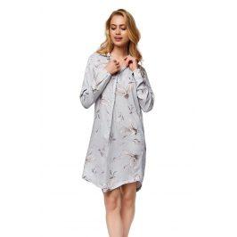 Luxusní noční košilka Nature  šedá
