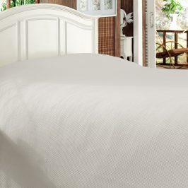 Luxusní přehoz na postel Bamboo kapučínový 170x210 cm béžová