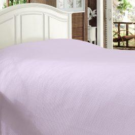 Luxusní přehoz na postel Bamboo levandulový 170x210 cm fialová