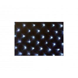 OEM D39399 Vánoční osvětlení - světelná síť 1,5 x 1,5 m - studená bílá 100 LED