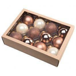 | Vánoční koule 6,5 cm - severský set | 18000392