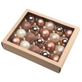 | Vánoční koule 4,5 cm - severský set | 18000395