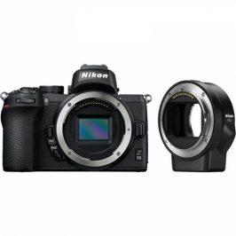 Nikon Z50 + adaptér bajonetu FTZ (VOA050K003)