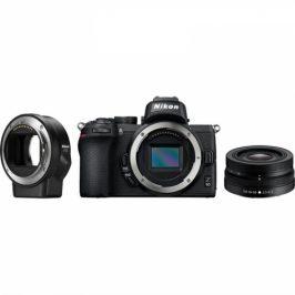 Nikon Z50 + 16-50 VR + adaptér bajonetu FTZ (VOA050K004)