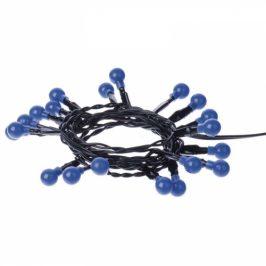 20 LED řetěz - kuličky, 2xAA 1,5m, modrá, časovač (1534194700)