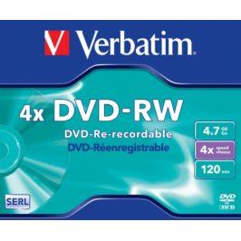 Verbatim DVD-RW, 4,7GB, 1ks (43285)