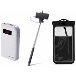Remax Letní set - 10000 mAh, vodotěsné pouzdro, selfie tyč (480113)