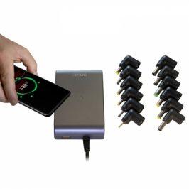 Evolveo Chargee C90 pro notebooky 90W s bezdrátovým nabíjením (Chargee C90)