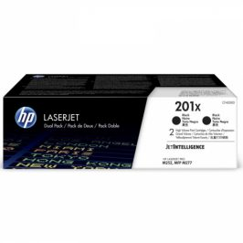 HP 201X, 2x 2800 stran, 2 pack (CF400XD)