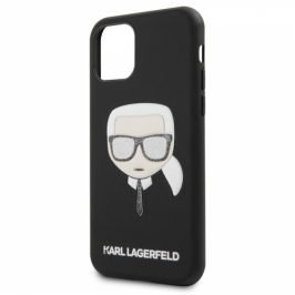 Karl Lagerfeld Embossed Glitter na Apple iPhone 11 Pro (KLHCN58GLBK)