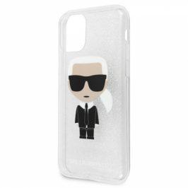 Karl Lagerfeld Glitter Iconic na Apple iPhone 11 (KLHCN61TPUTRIKSI)