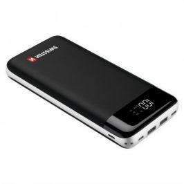 Swissten Black Core 30000mAh, Micro USB/USB-C PD/Lightning, QC 3.0