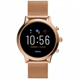 Fossil FTW6062 HR - Rose gold stainless steel Mesh (FTW6062_Female_mash gold)