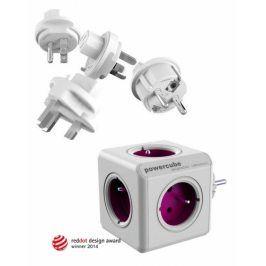 Powercube ReWirable + Travel Plugs - fialový