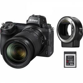 Nikon Z6 + 24-70 + adaptér bajonetu FTZ + 64 GB XQD karta (VOA020K009)