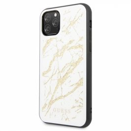 Guess Marble Glass na iPhone 11 Pro (GUHCN58MGGWH)