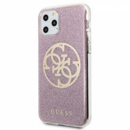 Guess 4G Glitter Circle na iPhone 11 Pro (GUHCN58PCUGLP)