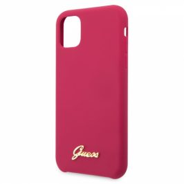 Guess Silicone Vintage na iPhone 11 (GUHCN61LSLMGR)