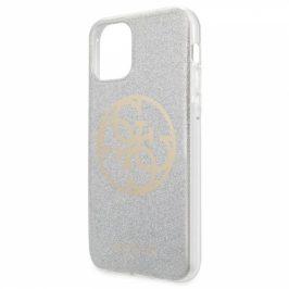 Guess 4G Glitter Circle na iPhone 11 (GUHCN61PCUGLLG)