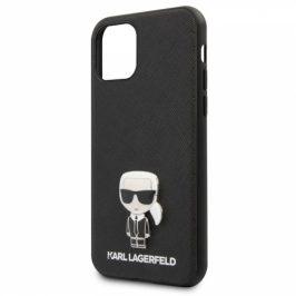 Karl Lagerfeld Saffiano Iconik na Apple iPhone 11 Pro (KLHCN58IKFBMBK)