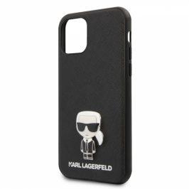 Karl Lagerfeld Saffiano Iconik na Apple iPhone 11 Pro Max (KLHCN65IKFBMBK)