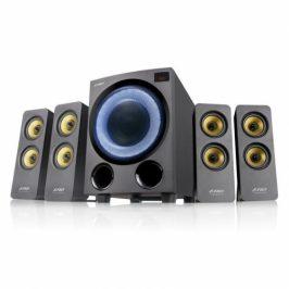 Fenda F&D F7700X, 4.1, 80W, RGB, BT5.0, FM rádio, USB, optický vstup, dálkové ovládání (F7700X)