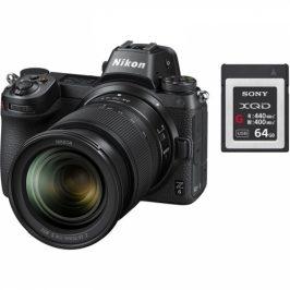 Nikon Z6 + 24-70 + 64 GB XQD karta (VOA020K007)