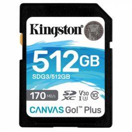 Kingston SDXC 512GB UHS-I U3 (170R/90W) (SDG3/512GB)