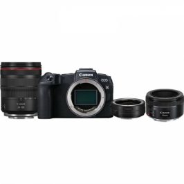 Canon RP + M 24-105 L IS USM + adapter + EF 50 mm f/1.8 STM