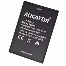 Aligator S6000 Duo, Li-Ion 2800mAh (AS6000BAL)