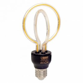 Tesla design filament, 5W, E27, teplá bílá (DB270523-7O)