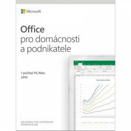 Microsoft Office 2019 pro domácnosti a podnikatele CZ (T5D-03305)