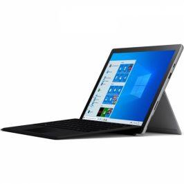 Microsoft Pro 7 (stříbrný) + Pouzdro s klávesnicí (černé) (VDH-00003 FMM-00013)