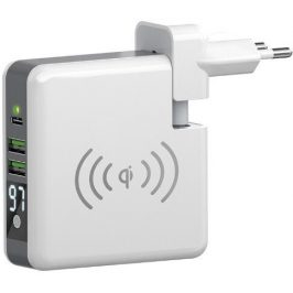Forever Core s funkcí powerbanky 6700 mAh, 2x USB, 1x USB-C (GSM045799)