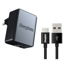 Energizer 2x USB 3,4A s USB-C kabelem 1m (ACA2CEUUC23)