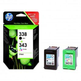 HP No. 338 + 343, 480 stran - originální (SD449EE)