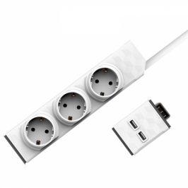 Powercube Modular Switch 1,5m + USB modul